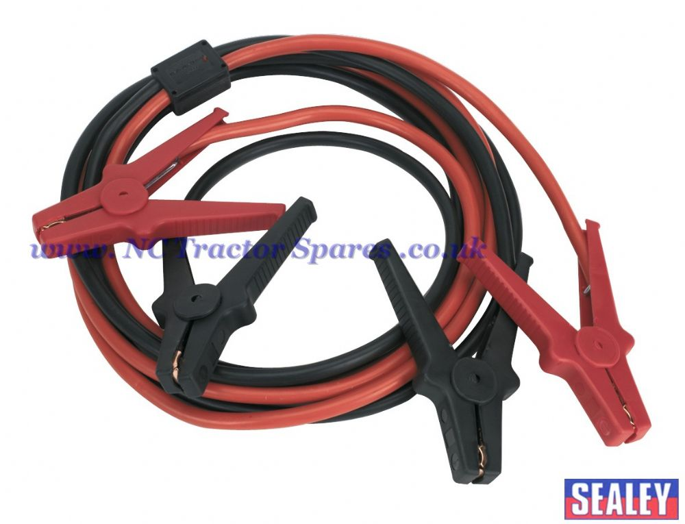 Booster Cables 3.5mtr 350Amp 40mm Surge Protection TUV/GS Approved